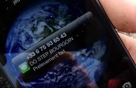 alerte telephone sms