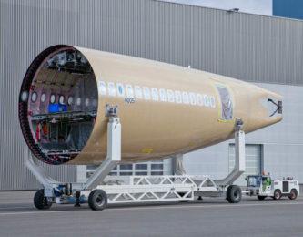 Essieux de remorque pour A350
