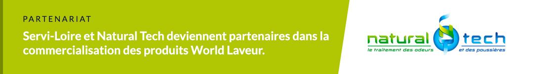 Servi Loire et Natural Tech sont partenaires pour commercialiser les World Laveur.