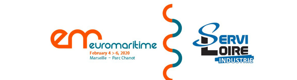 Logos Servi-Loire et salon Euromaritime